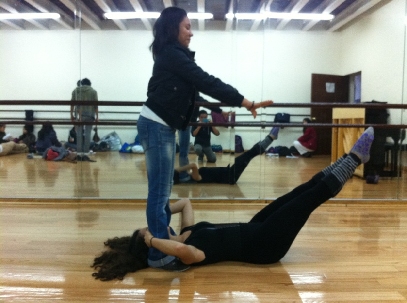 Kinesiologia de la Danza