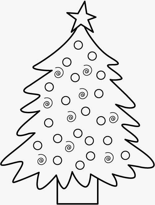 Christmas Coloring Pages For Toddlers 2
