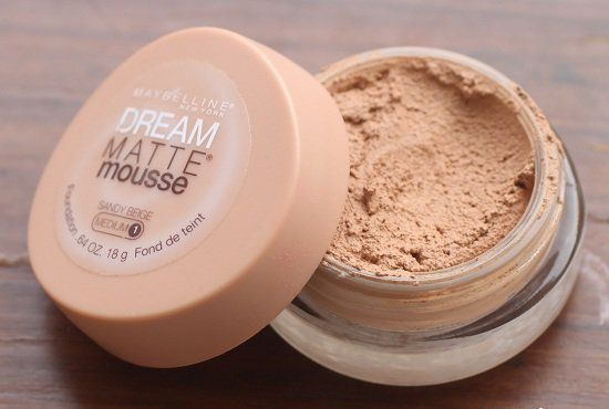 maquillaje mousse maybelline