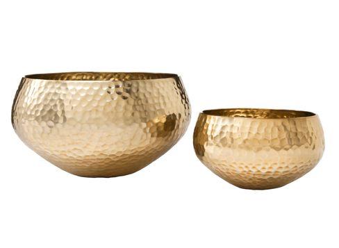 Target Nate Berkus mannered brass bowl