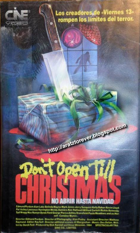 No abrir hasta Navidad, Don't Open Till Christmas, slasher, Edmund Purdom, Caroline Munro