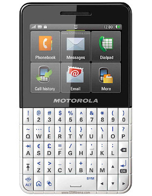 MOTOKEY XT EX118, EX108 and MOTOKEY mini-SIM Dual WX294, three mobile phones from Motorola