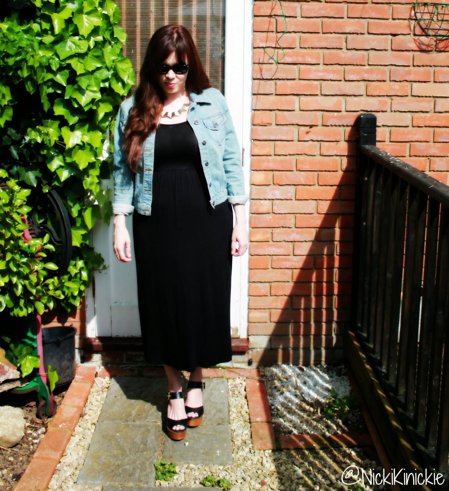 Boohoo, Midi dress, SS14, OOTD
