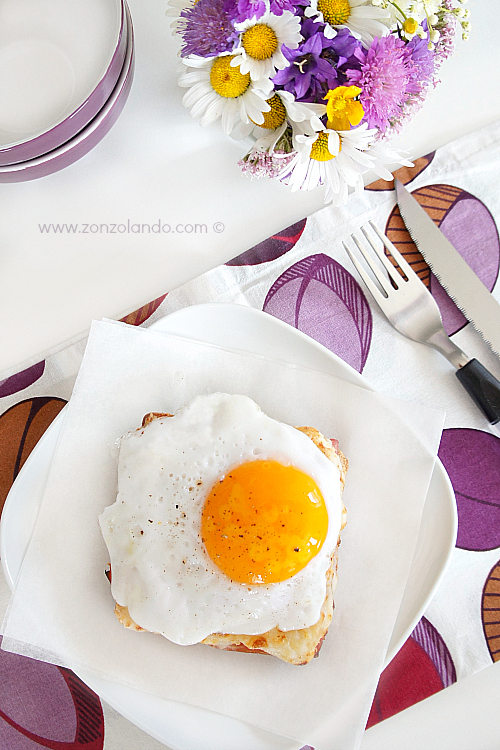 Croque-madame toast prosciutto e uovo ricetta francese sandwich perfect recipe