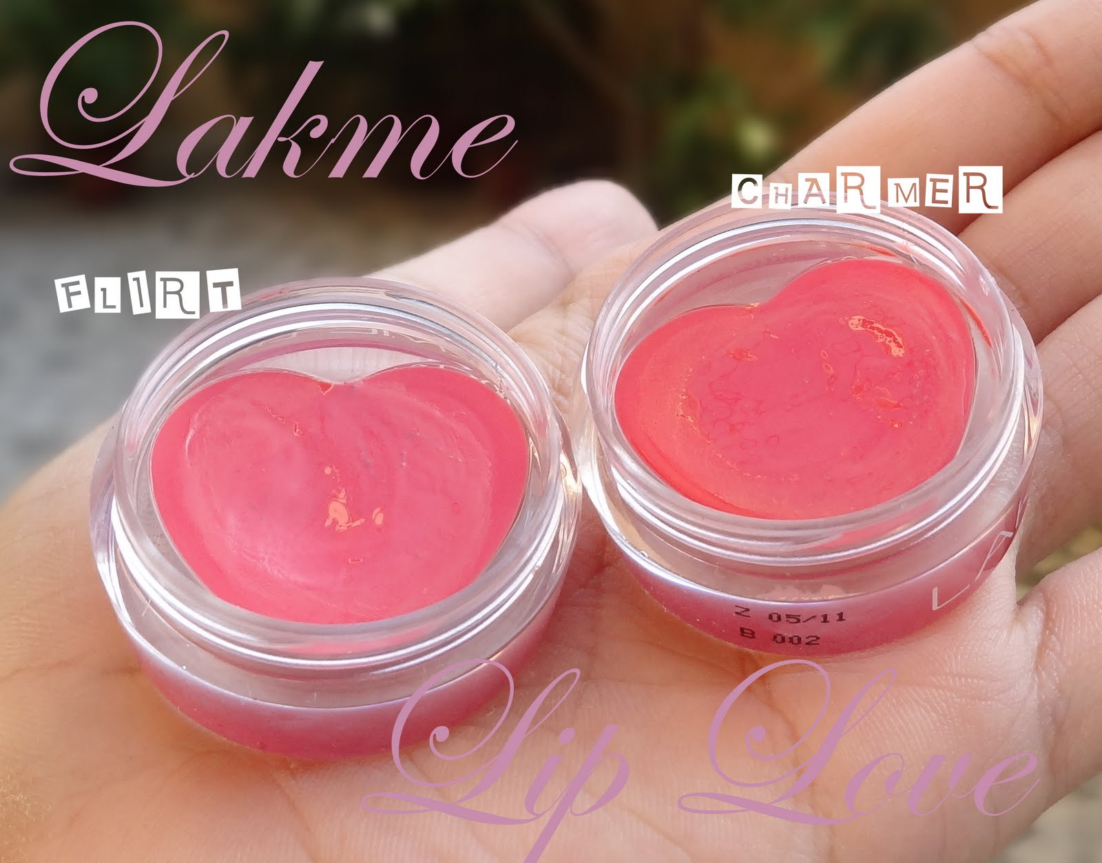 lakme lip love flirt lip conditioner Conditioner color treated curly lip gloss lip stain lip liner lip plumper flirt - eye kandy cosmetics ps i love you collection.