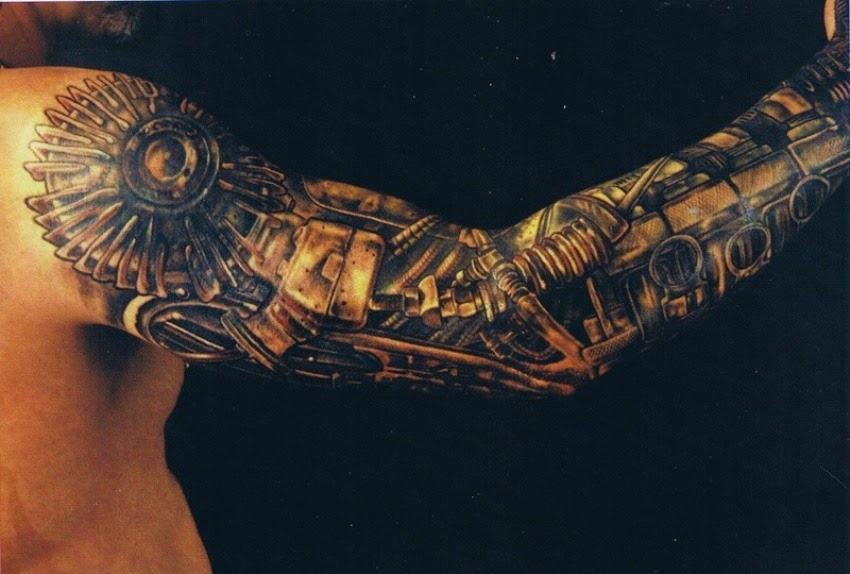 3D Tattoo Designs On Arms