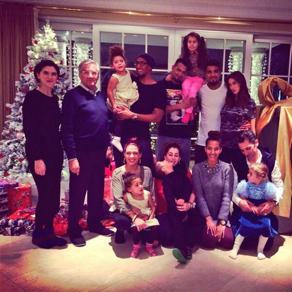 Kevin-Prince Boateng was attacked after celebrating Christmas with his family