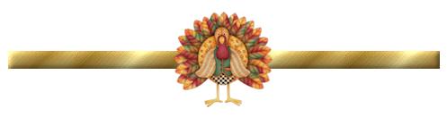 turkey divider bar image