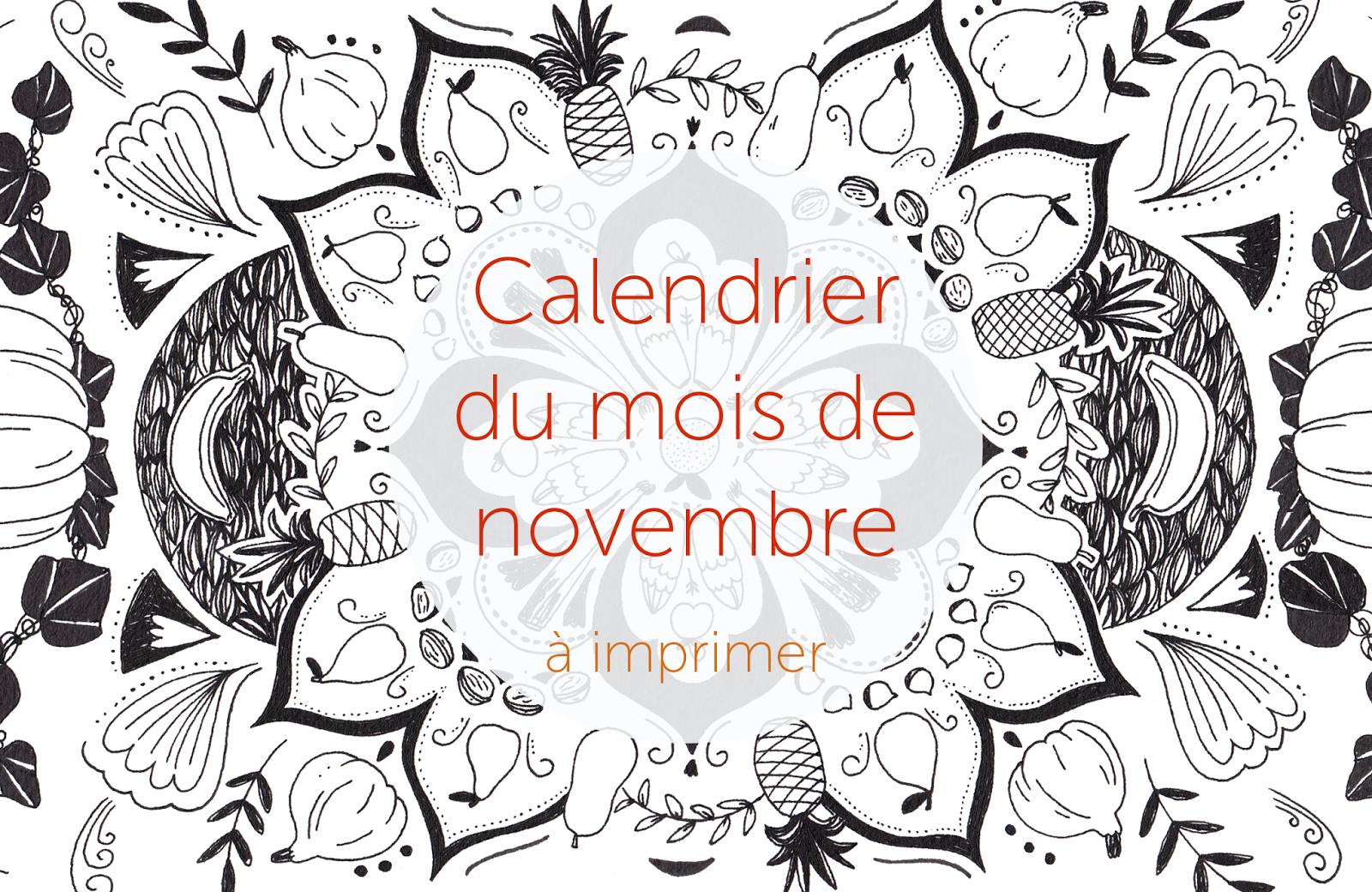 chlo u00e9 manceau      illustratrice  calendrier du mois de
