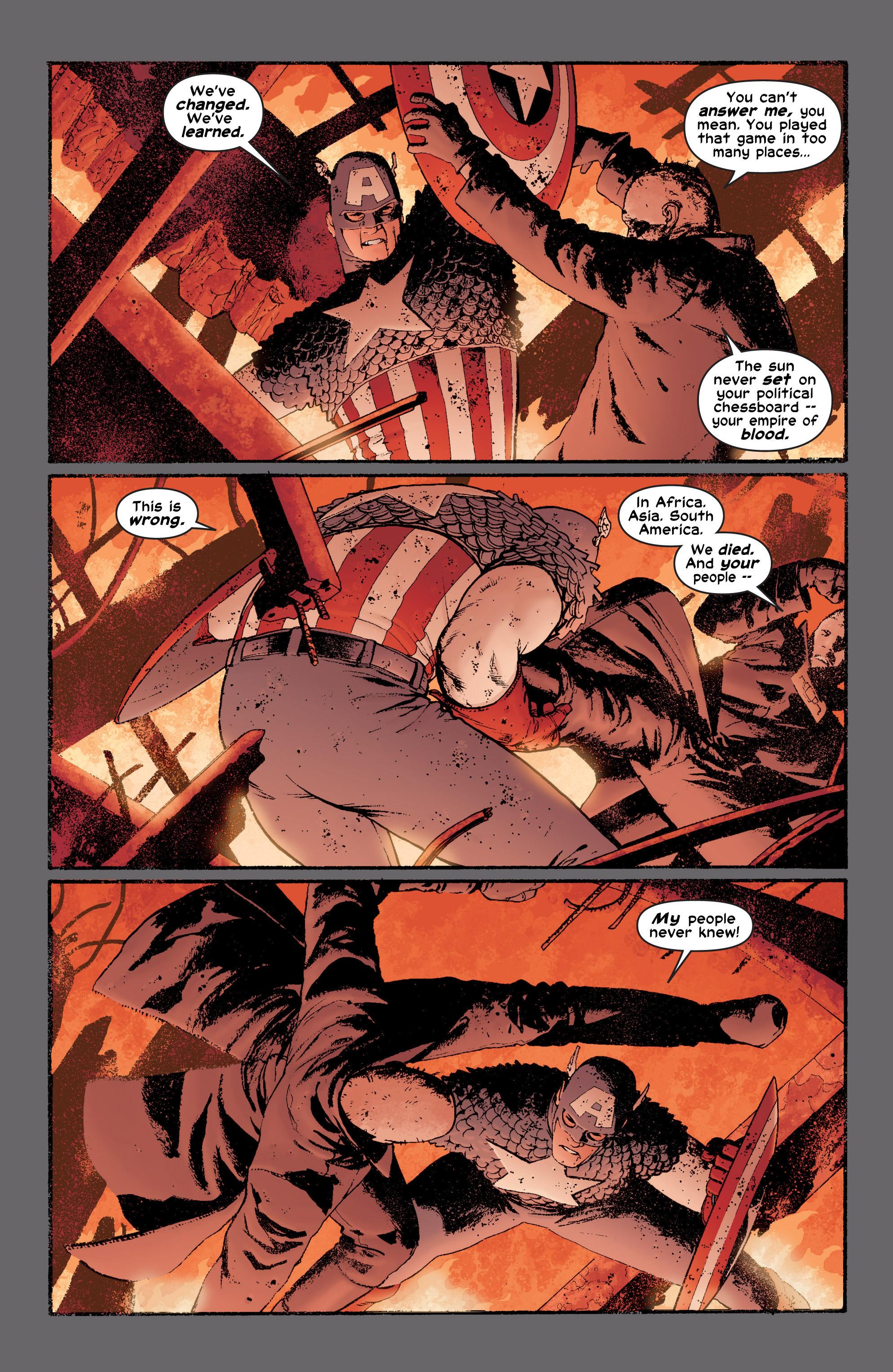 Captain America (2002) Issue #6 #7 - English 20