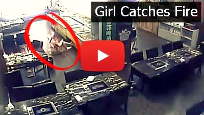 Watch this Chinese Girl get severely burned while eating at a Chinese Restaurant via geniushowto.blogspot.com accident videos