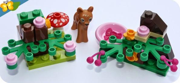 LEGO® Friends Animaux - Série 3 - Le faon et sa clairière
