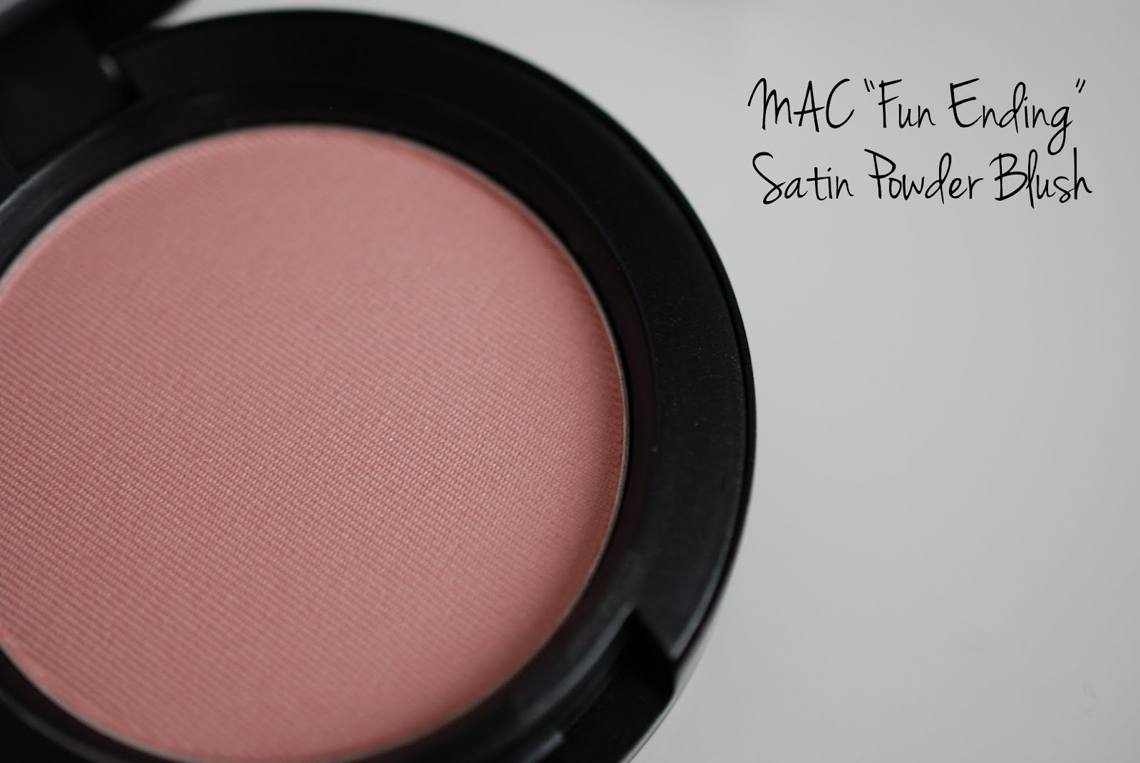 Fun Ending Satin Powder Blush