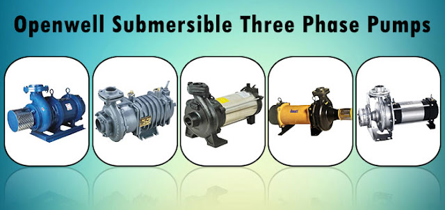 Top Manufacturers Openwell Submersible Three Phase Pumps Online | Pumpkart.com