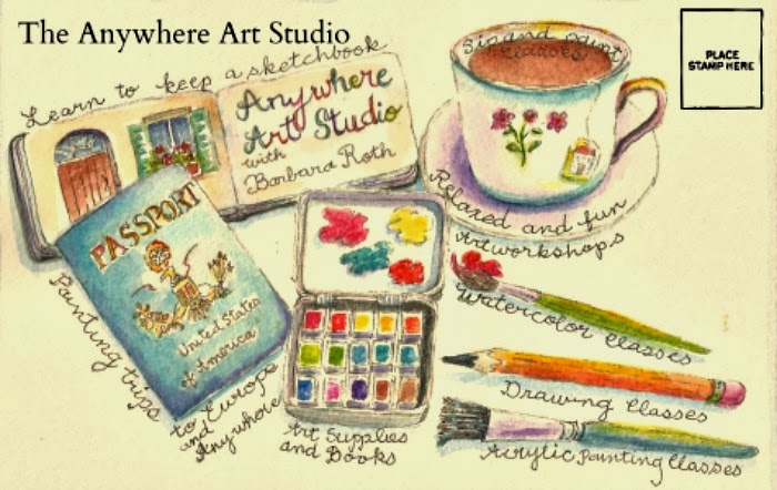 Anywhere Art Studio Ruminations