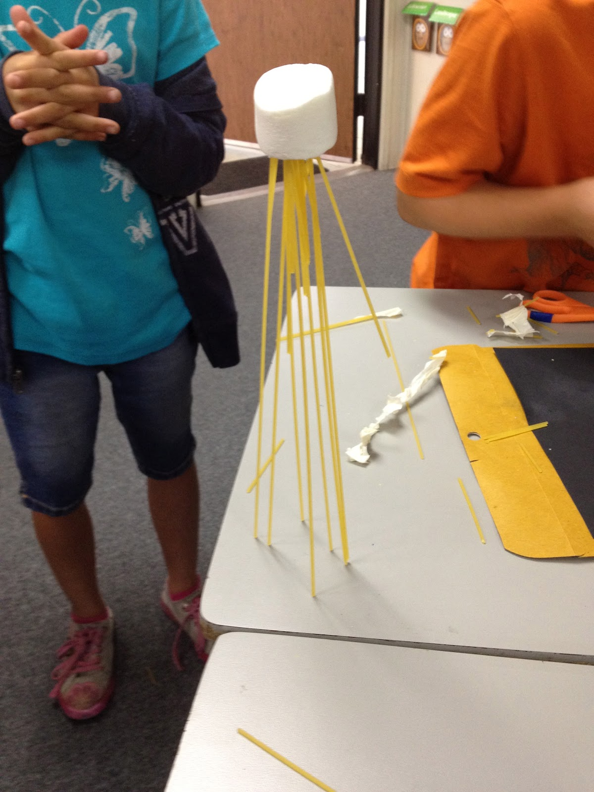 teachkidsart return of the marshmallow challenge. Black Bedroom Furniture Sets. Home Design Ideas
