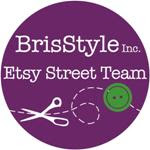 Visit the BrisStyle Etsy Street Team!