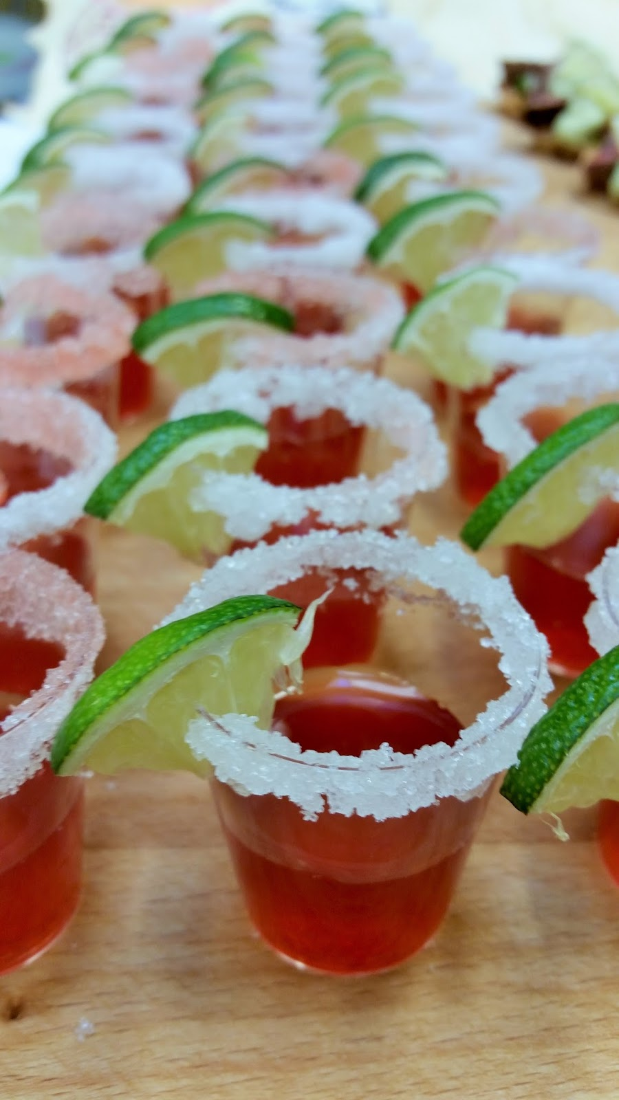 Virgin margarita med jordbær og lime