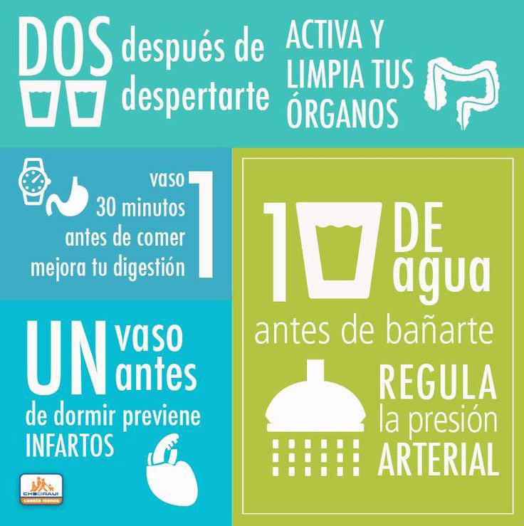 Por qué beber agua