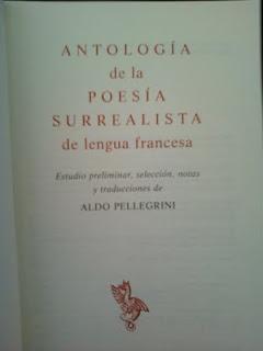 [Mis libros] Poesía surrealista (Aldo Pellegrini)