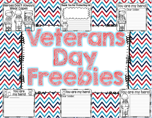 Seusstastic Classroom Inspirations: Veterans Day Freebie for ...