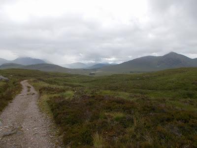mountain biking in the scottish highlands