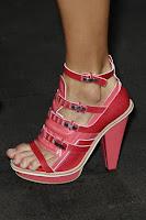 Обувки на висок ток с каишки и платформа отпред на Rag & Bone