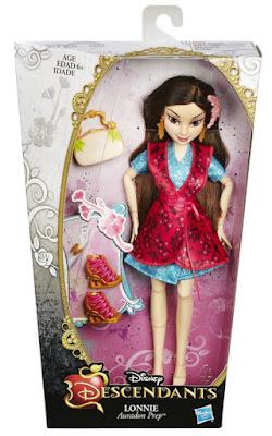 JUGUETES - DISNEY Los Descendientes | Descendants  Lonnie | Muñeca - doll  Auradon Prep - Academia Auradon | Dianne Doan  Producto Oficial Película - Movie 2015 | Hasbro B3118 | A partir de 6 años  Comprar en Amazon