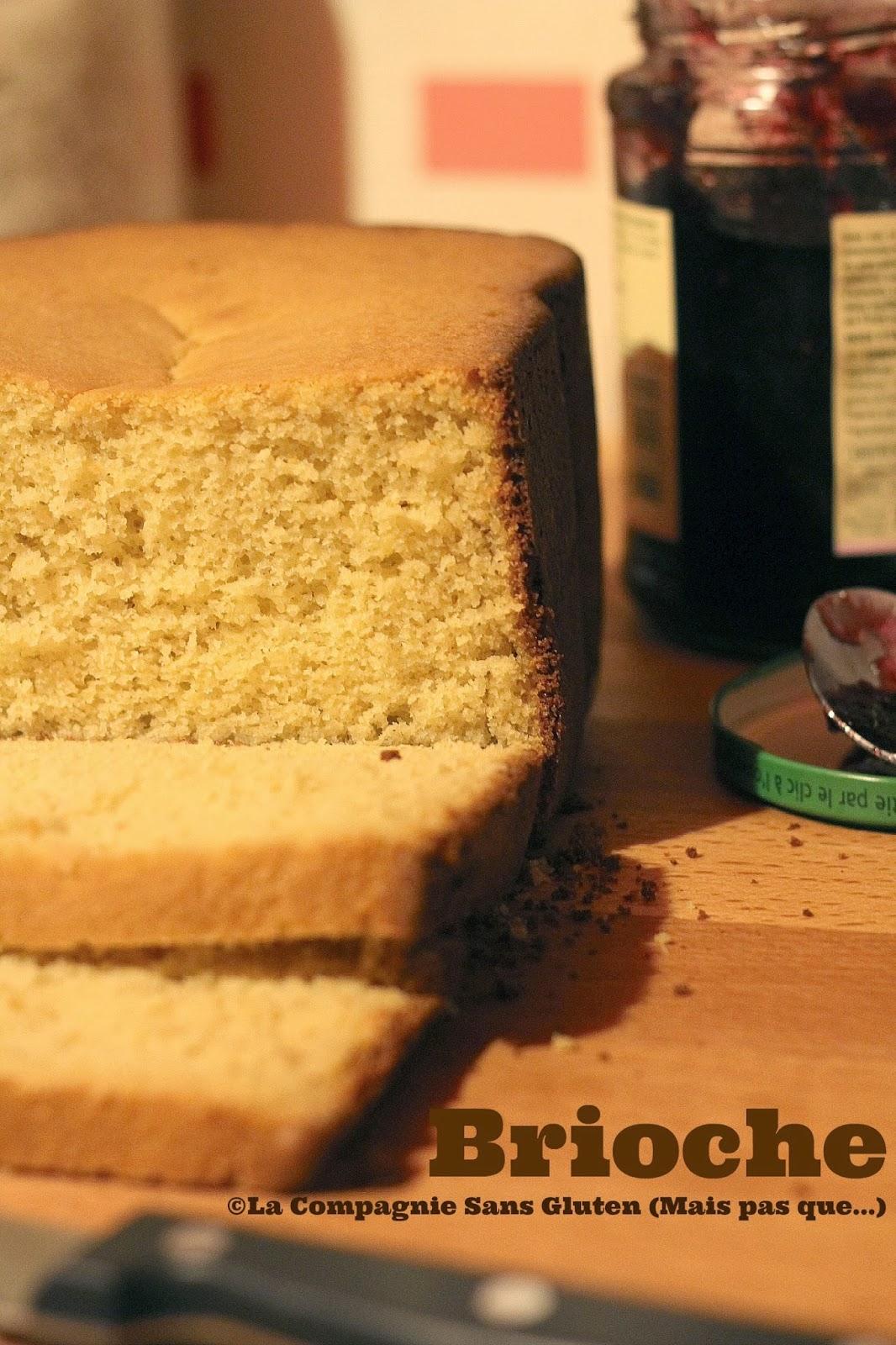 Brioche sans gluten et sans lait la m a p blogs de - A table sans gluten et sans lait ...