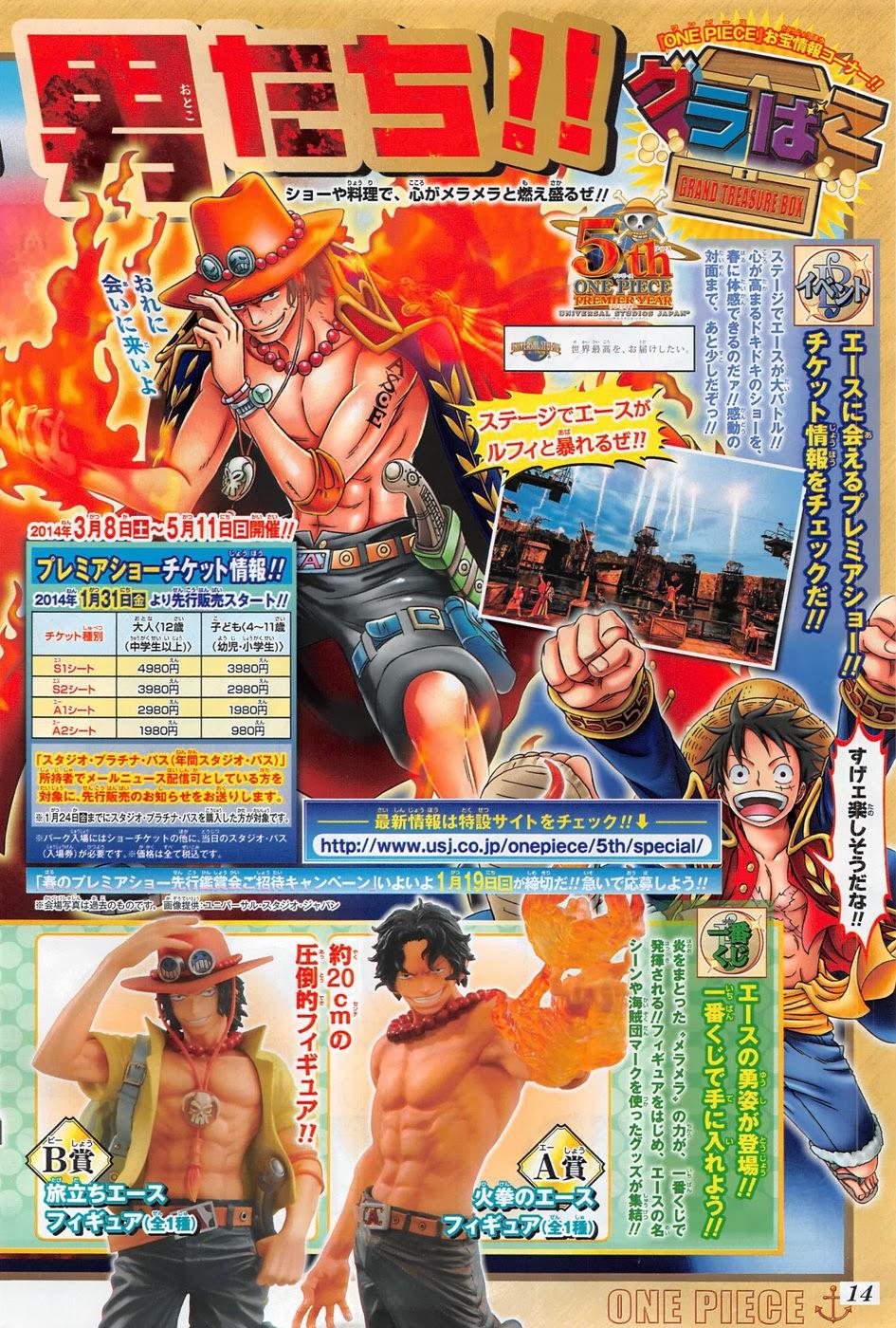 One Piece Chapter 733: Ước nguyện của anh lính chì 019
