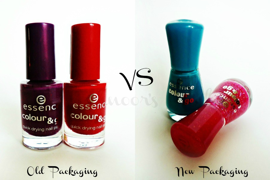 Mahnoor\'s Haul: Essence Color and Go Nail Polish-Old Packaging Vs ...