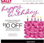 April Sally's Coupon