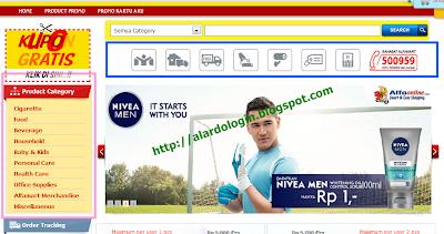 Pilah-pilih produk di alfaonline com