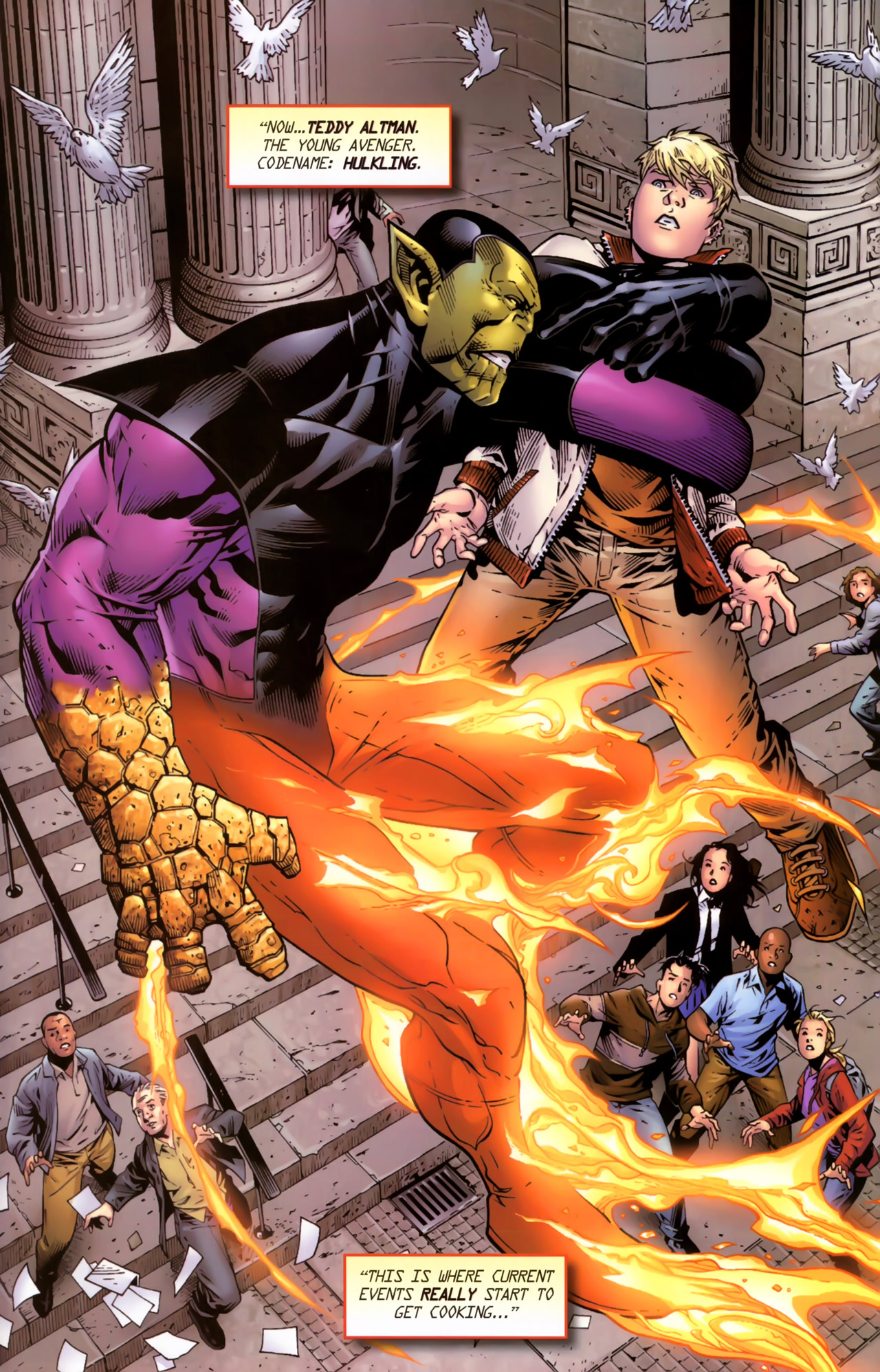Read online Secret Invasion: The Infiltration comic -  Issue #11 - 21