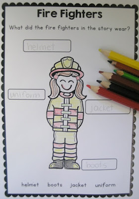 Fire safety printable for fire safety week