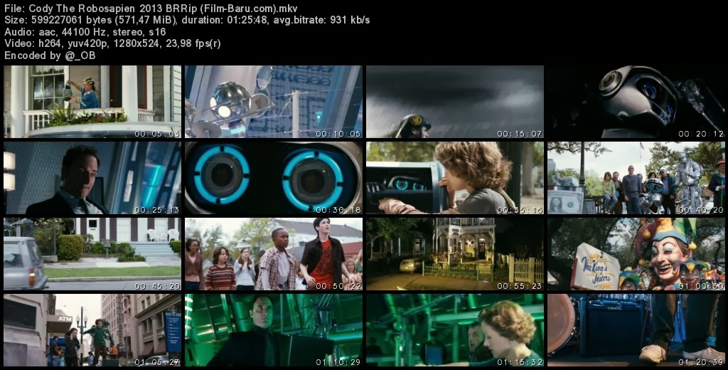Download Film Cody The Robosapien (2013)
