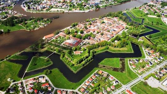 Fredrikstad noruega ciudad amurallada