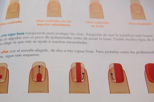 Tutorial sobre cómo aplicar pintura en las uñas