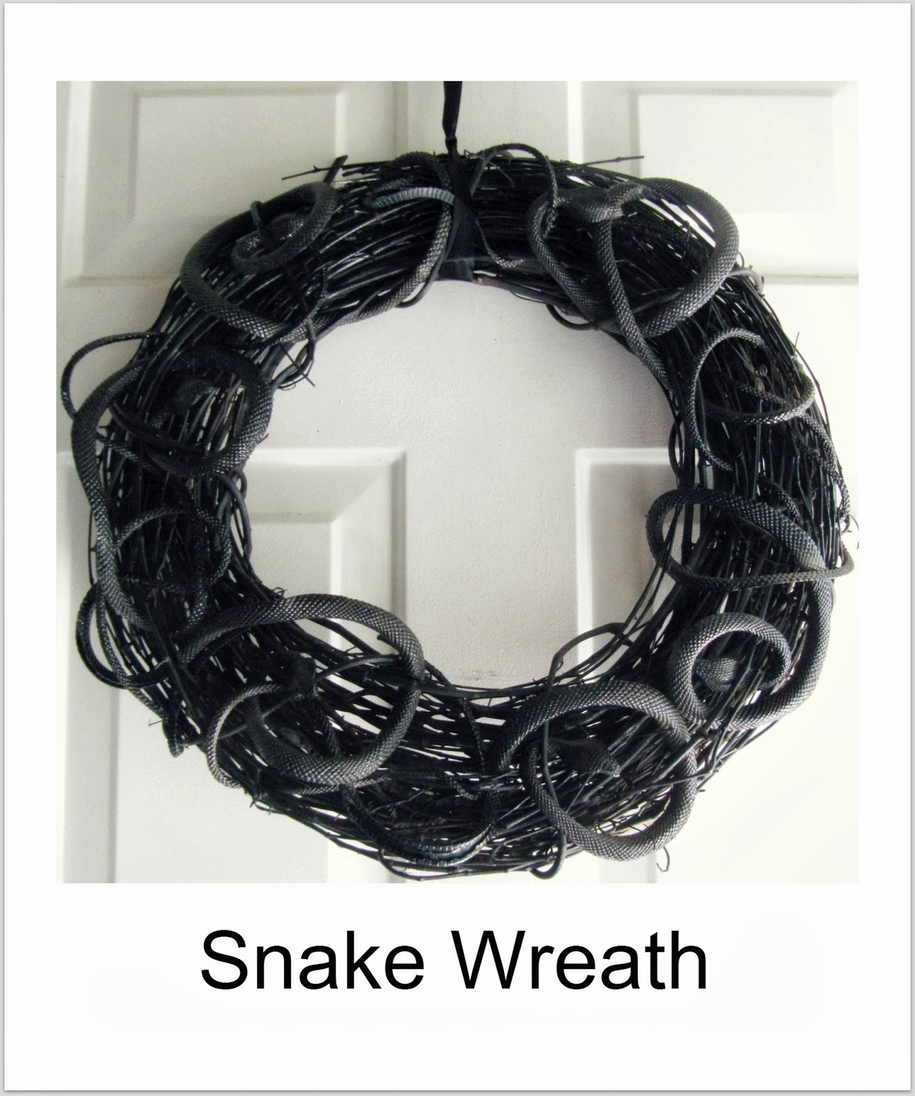 http://thewickerhouse.blogspot.com/2012/10/halloween-snake-wreath.html