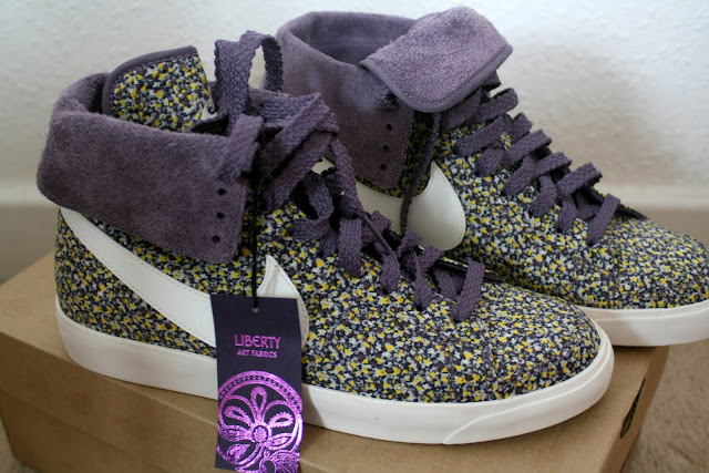 nike liberty floral blazers high roll