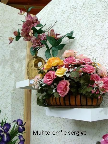tabii kumaş çiçek yapımı