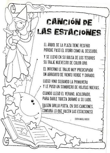 El avioncito de los sue os canci n de invierno carita for Cancion infantil hola jardin