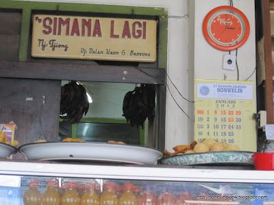 pisang goreng Simanalagi Bandung