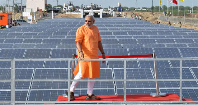 Save Environment And Earth Gujarat Solar Power Plant