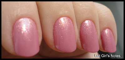 opi peach-a-boo over sparrow me drama for pink wednesday manicure