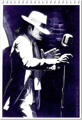 MJ Smooth Criminal Digital Art