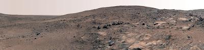 Дно кратера Гусева; осень 2005 г.