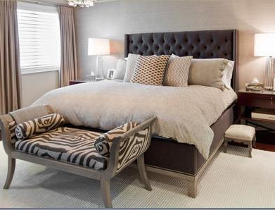 Decorar habitaciones cabeceros tapizados for Cabeceros tapizados fotos