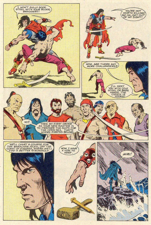Conan the Barbarian (1970) Issue #186 #198 - English 14