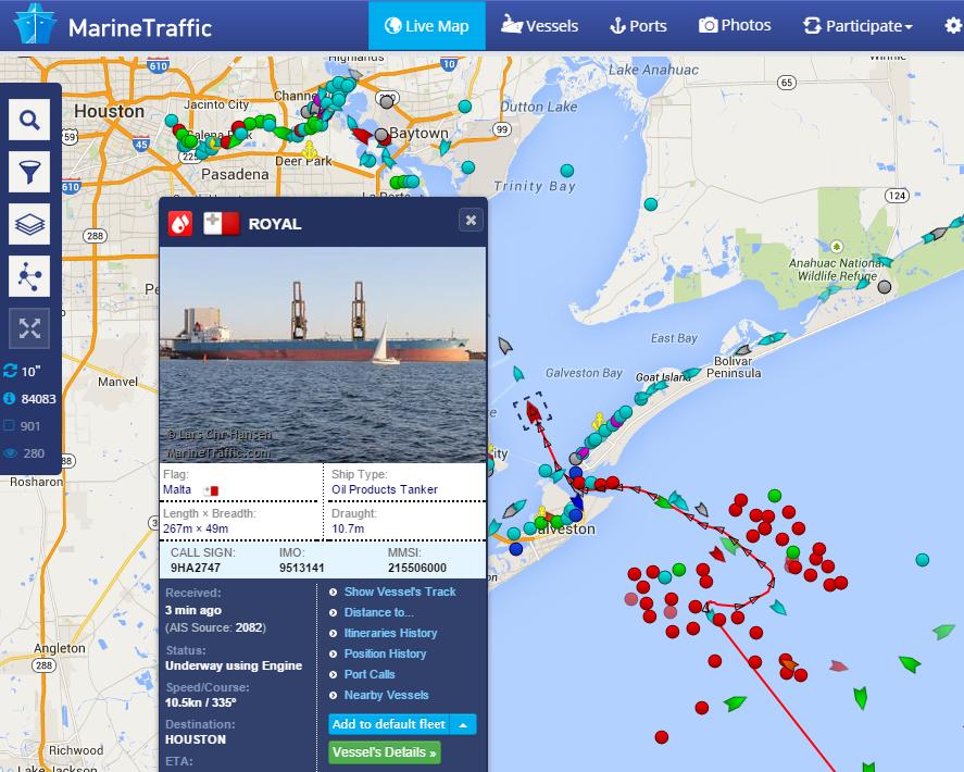 Official Google Cloud Blog: MarineTraffic tracks marine ...